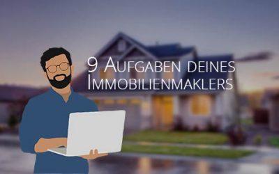 9 Aufgaben als Immobilienmakler