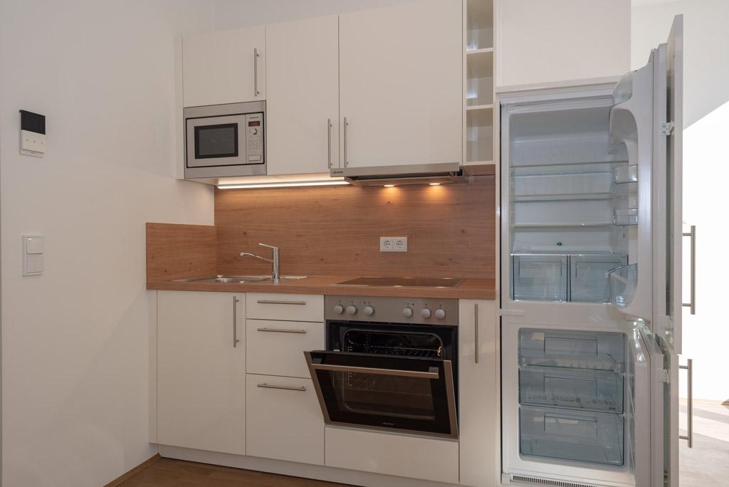 Mondänes Apartment in ruhiger Lage voll möbliert Küche