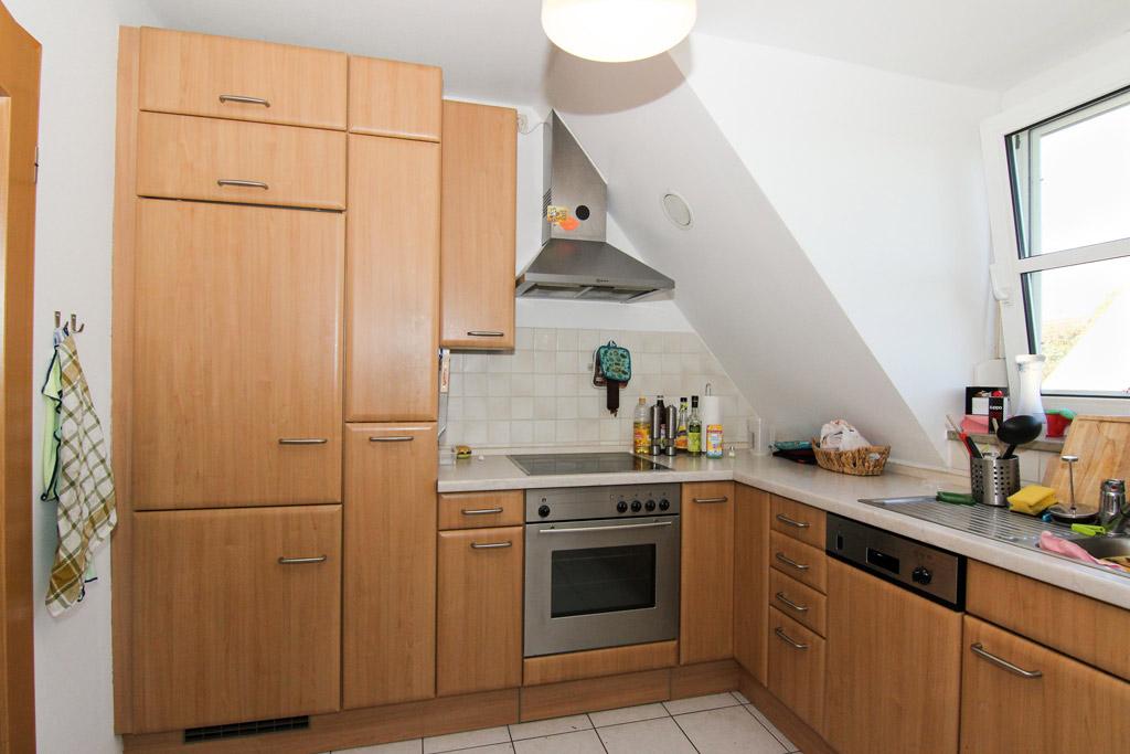 Ruhig gelegene Maisonette mit Balkon Küche-Bild-1