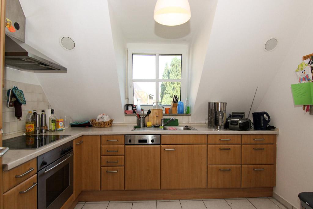 Ruhig gelegene Maisonette mit Balkon Küche-Bild-2