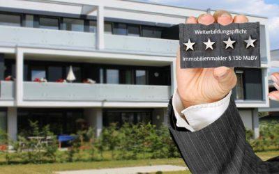 Weiterbildungspflicht für Immobilienmakler §15b MaBV